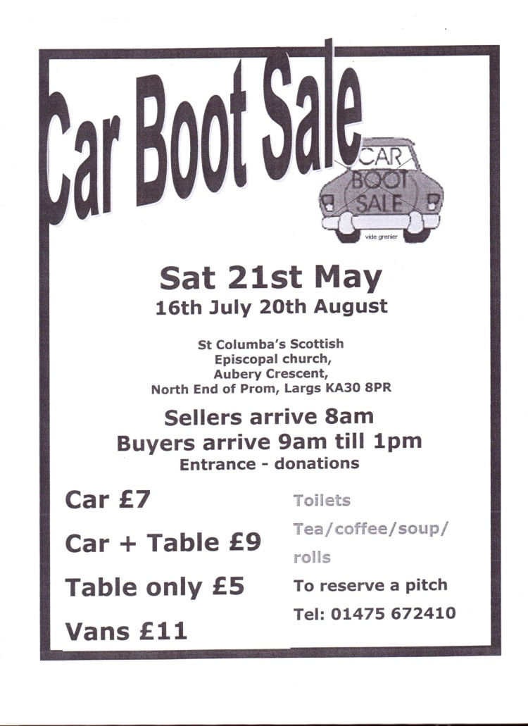 carbootposter
