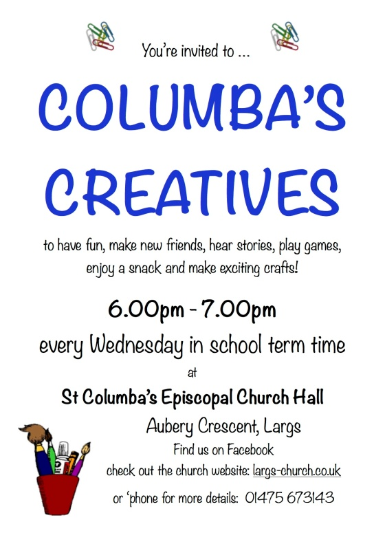 columba's creatives poster 2016