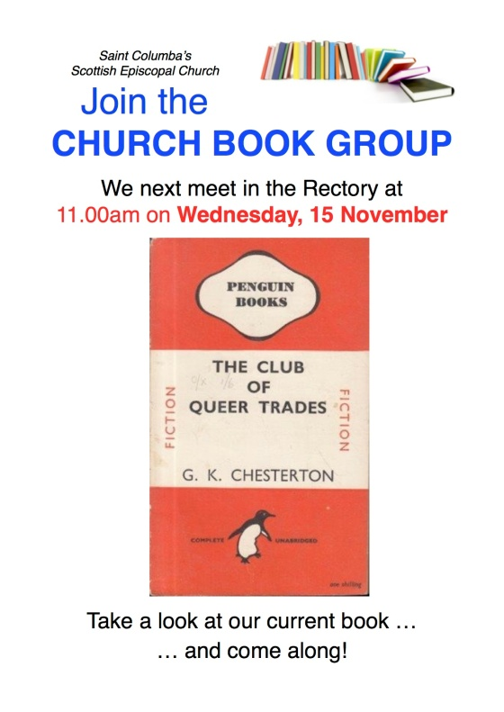 book group poster