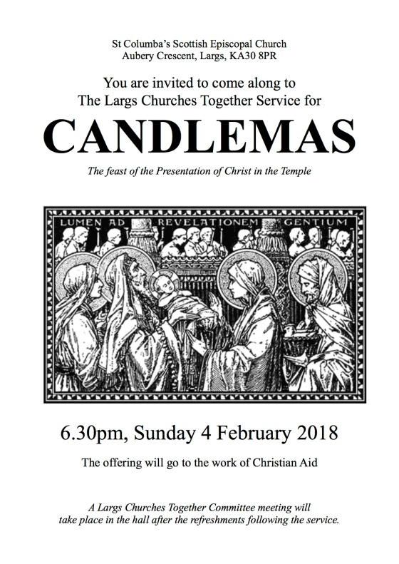 Candlemas Service Poster 2018