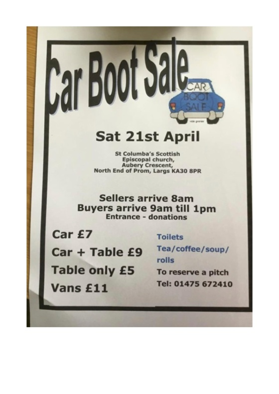 CarbootposterMay2018