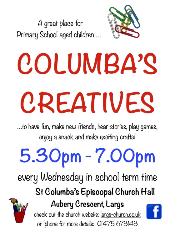 columba's creatives poster 2018