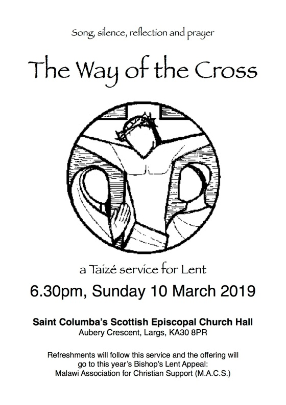 Taize Poster 'The Way of the Cross' Lent 2019
